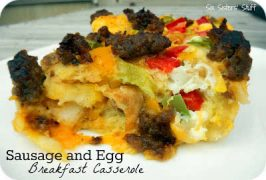 Sausage and Egg Breakfast Casserole Recipe