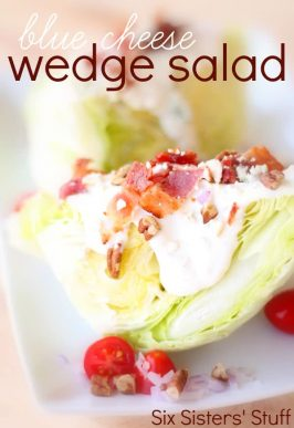 Blue Cheese Wedge Salad Recipe