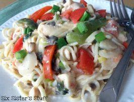 Heathly Meal Monday: Cajun Chicken Pasta Recipe