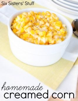 Homemade Creamed Corn Recipe
