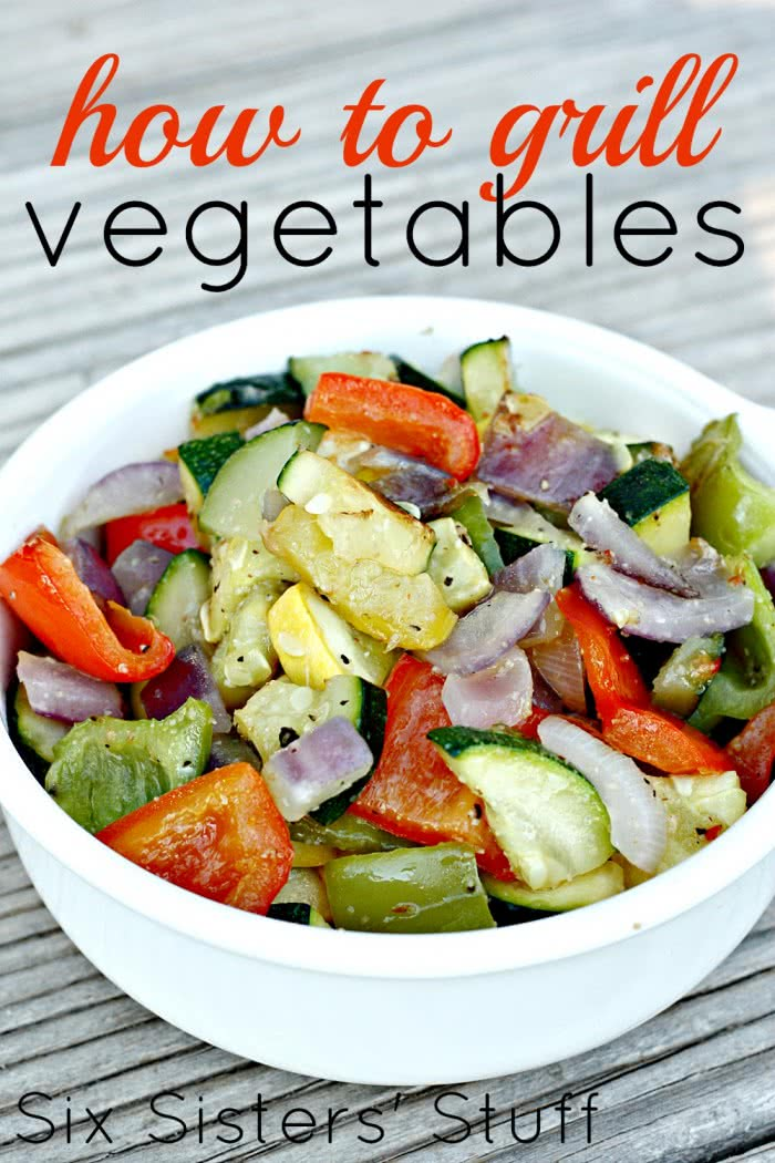 How to Grill Garden Vegetables (and my favorite recipe for them!)