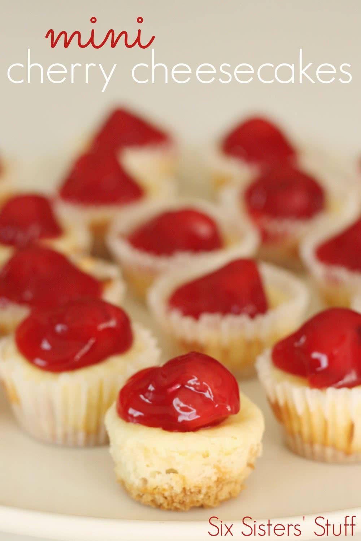 Mini Cherry Cheesecake Recipe
