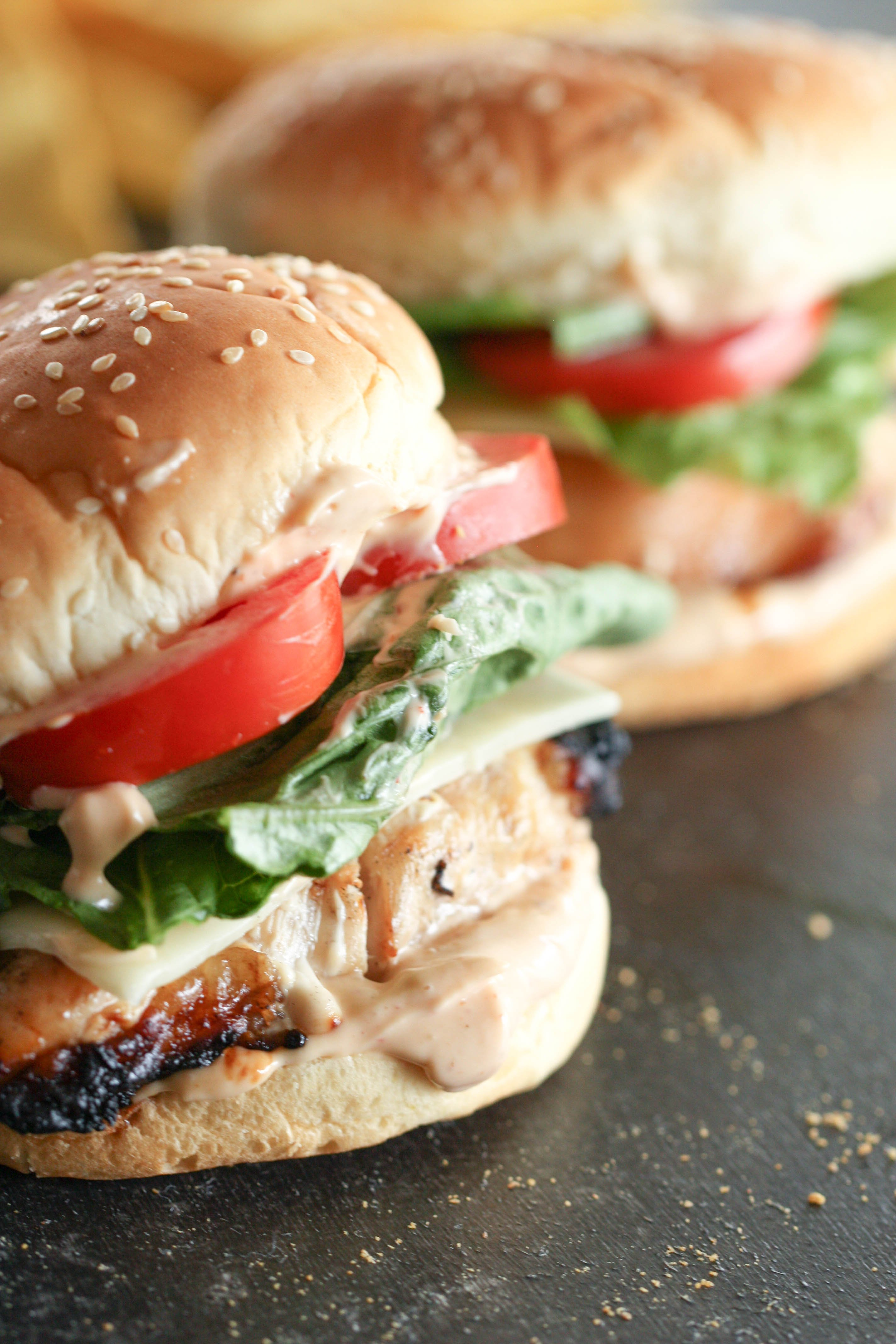 Marinated Grilled Chicken Sandwich Recipe Easy