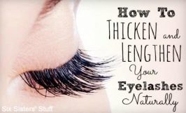 How to Thicken and Lengthen Your Eyelashes Naturally