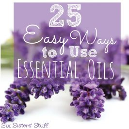 25 Easy Ways to Use Essential Oils.