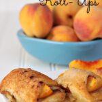 Peach Dumpling Roll-Ups