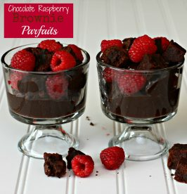 Six Sisters' Stuff Video of the Week: Chocolate Raspberry Brownie Parfaits