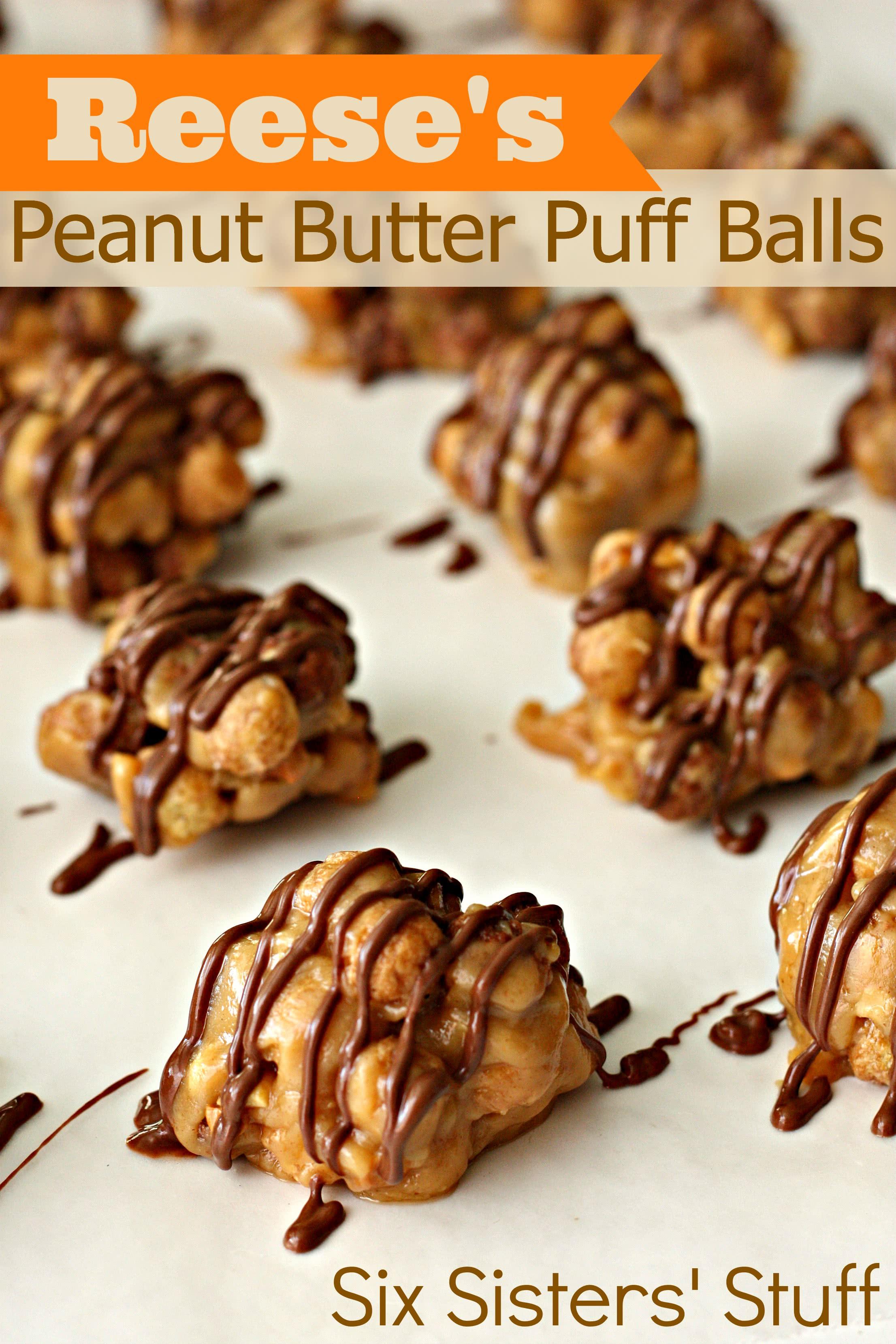 Reese's Peanut Butter Puff Balls