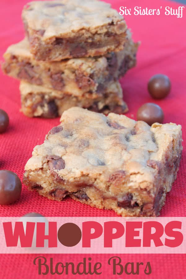 Whoppers Blondie Bars Recipe