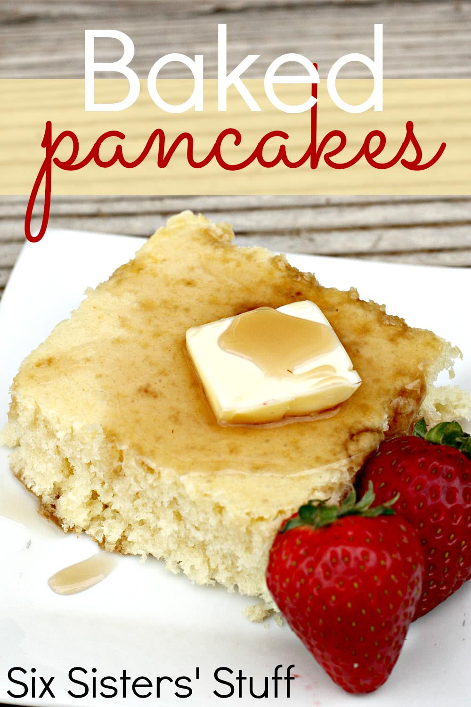 Baked Pancakes Recipe (Freezer Meal)