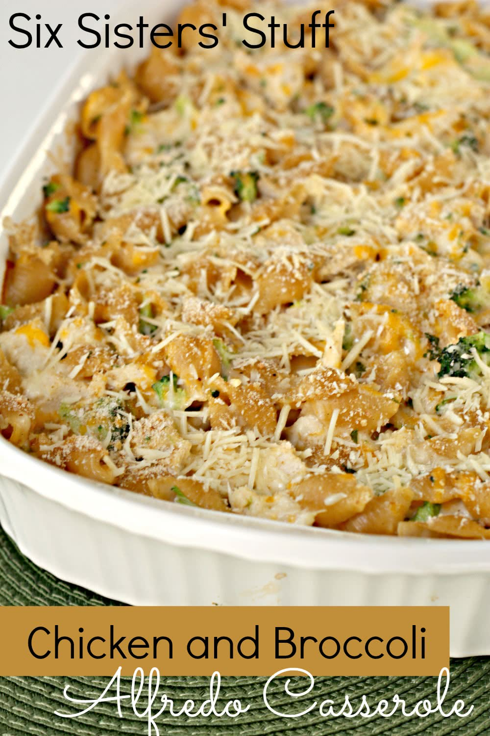 Chicken and Broccoli Alfredo Casserole Recipe