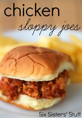 Chicken Sloppy Joe Recipe {with Mrs. Dash Seasoning}