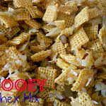 Video: Gooey Almond Coconut Chex Mix Recipe