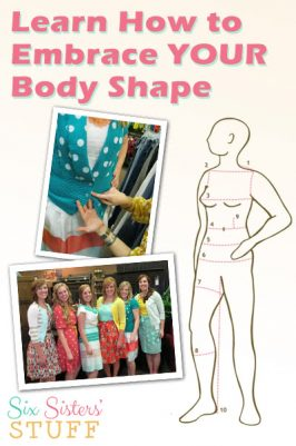 Learn How To Embrace YOUR Body Shape and Feel Beautiful