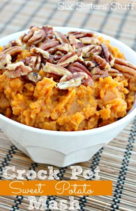 Crock Pot Sweet Potato Mash