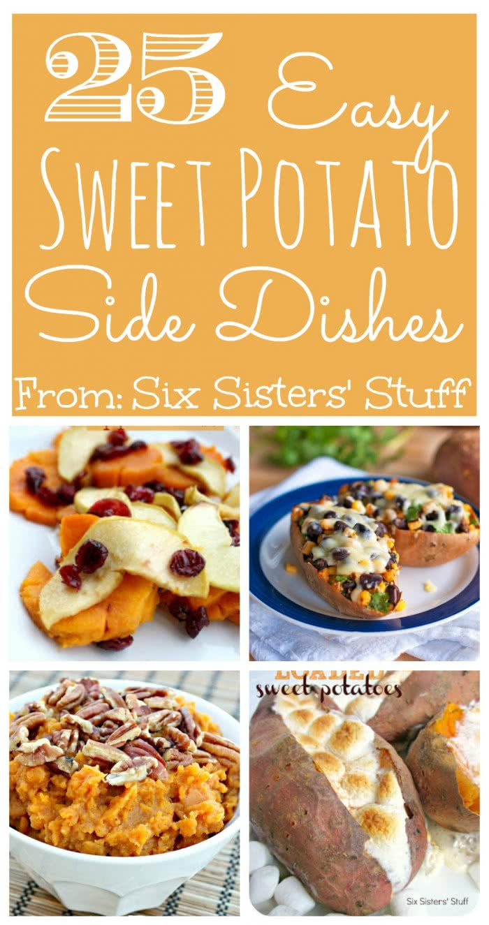 25 Easy Sweet Potato Side Dishes