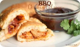 Barbecue Chicken Calzones Recipe