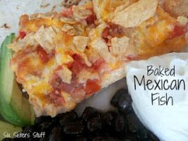 Healthy Meals Monday: Baked Mexican Fish