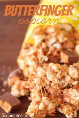 Butterfinger Popcorn Recipe