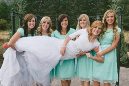 Wedding Week: The Bridesmaid Dresses