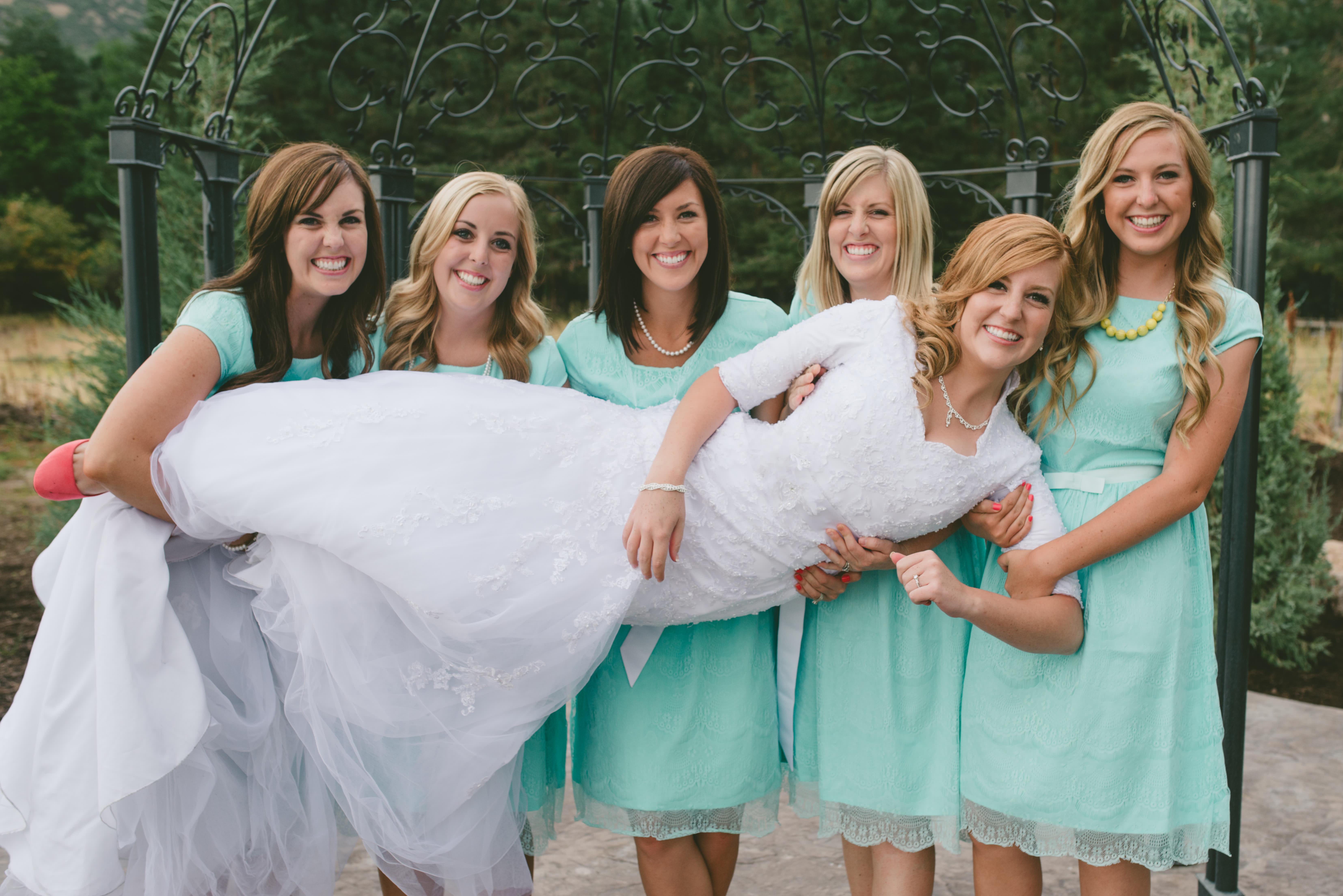 Wedding Week: The Bridesmaid Dresses