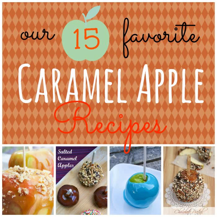 Our 15 Favorite Caramel Apples