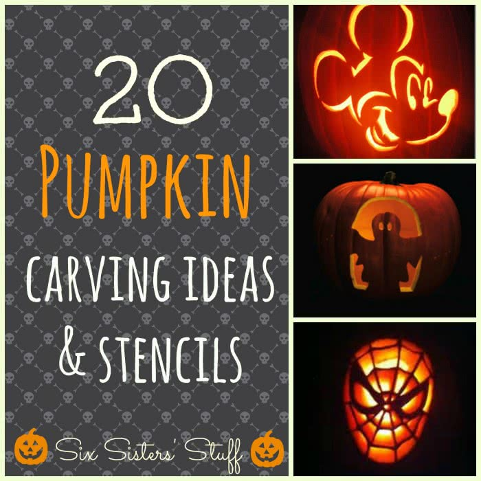 20 Pumpkin Carving Ideas