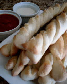 Homemade Pizza Factory Breadsticks