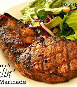 grilled steak made with easy steak marinade recipe