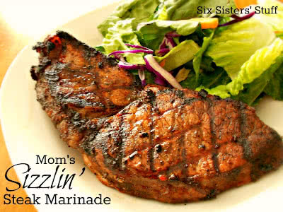 Mom's Sizzlin' Steak Marinade