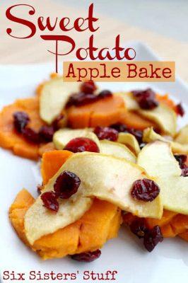 Sweet Potato Apple Bake