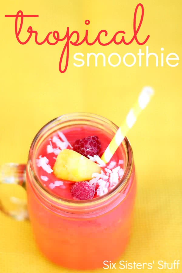 Tropical-Fruit-Smoothie-Recipe