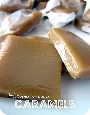 Homemade Caramels Recipe