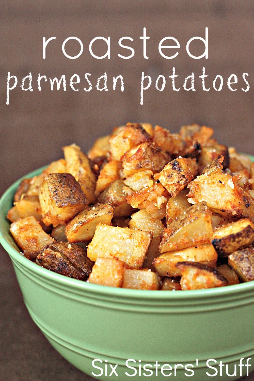 Roasted Parmesan Potatoes Recipe