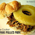 Slow Cooker Teriyaki Pulled Pork Sandwiches