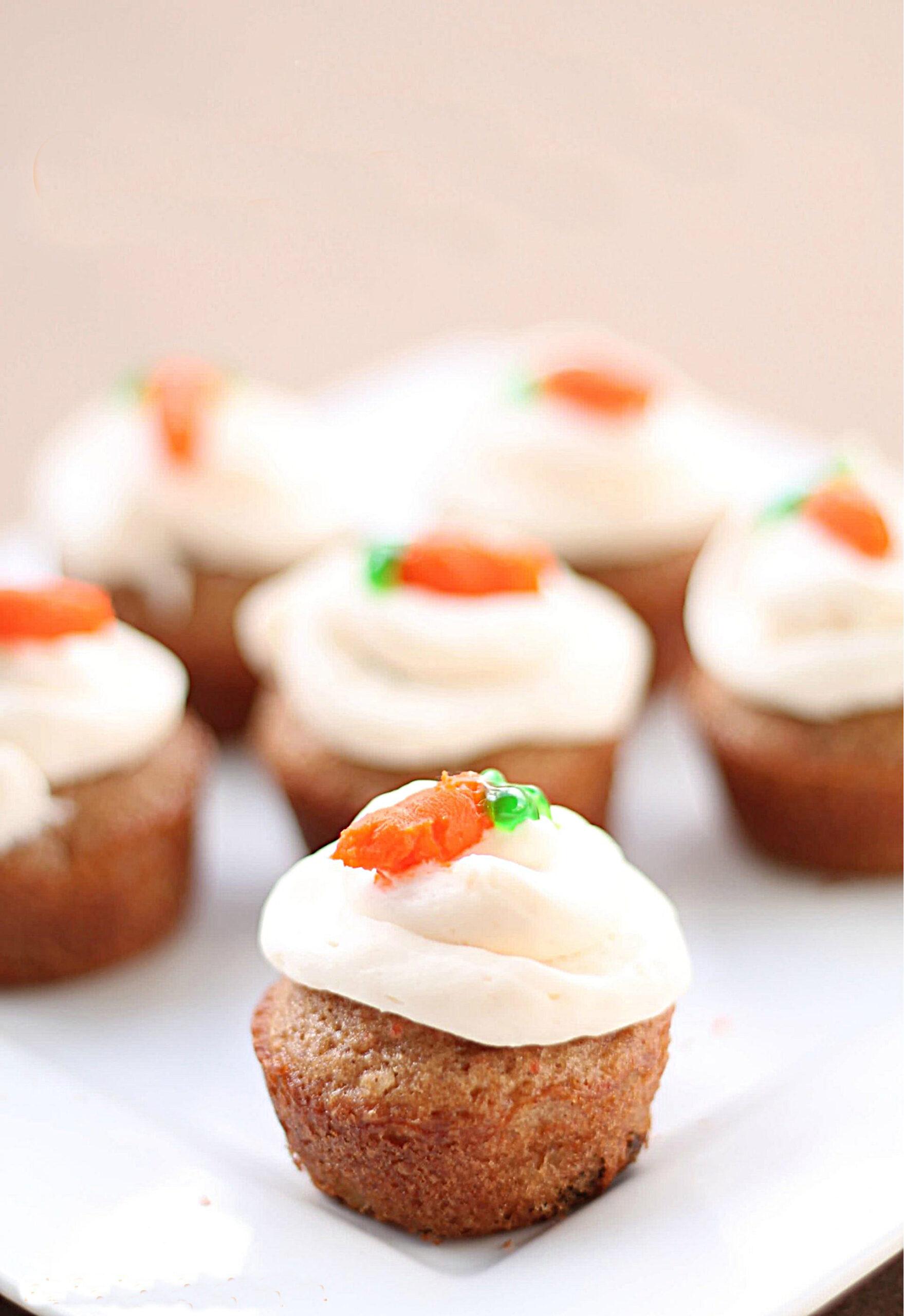 Bite Size Carrot Cakes Recipe