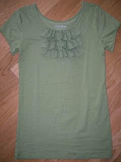Ruffle T-Shirt Tutorial