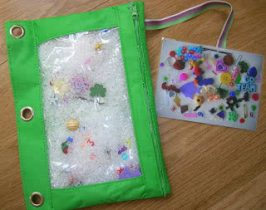 No-Sew I-Spy Bag and Quiet Book Tutorial