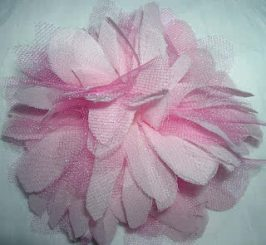 Anthropologie Fluffy Tulle Flower Tutorial