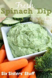 Fresh Spinach Dip
