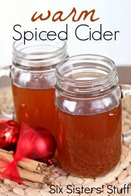 Grandma's Warm Spiced Cider