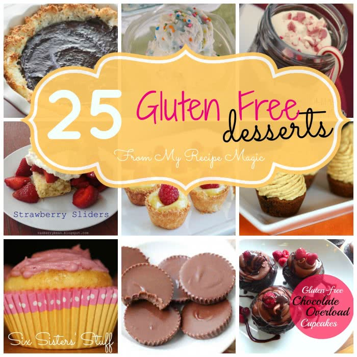 25 Gluten Free Desserts from My Recipe Magic