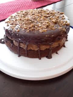 Chocolate Mousse Crunch Cake Recipe