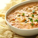 Slow Cooker Warm Chili Cheese Dip on SixSistersStuff