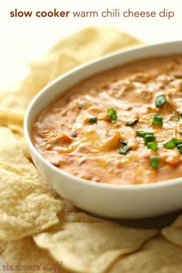 Slow Cooker Warm Chili Cheese Dip Recipe