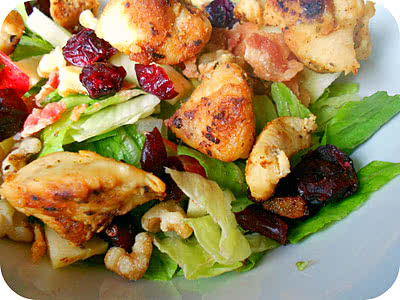 Chicken and Bacon Autumn Chopped Salad Recipe