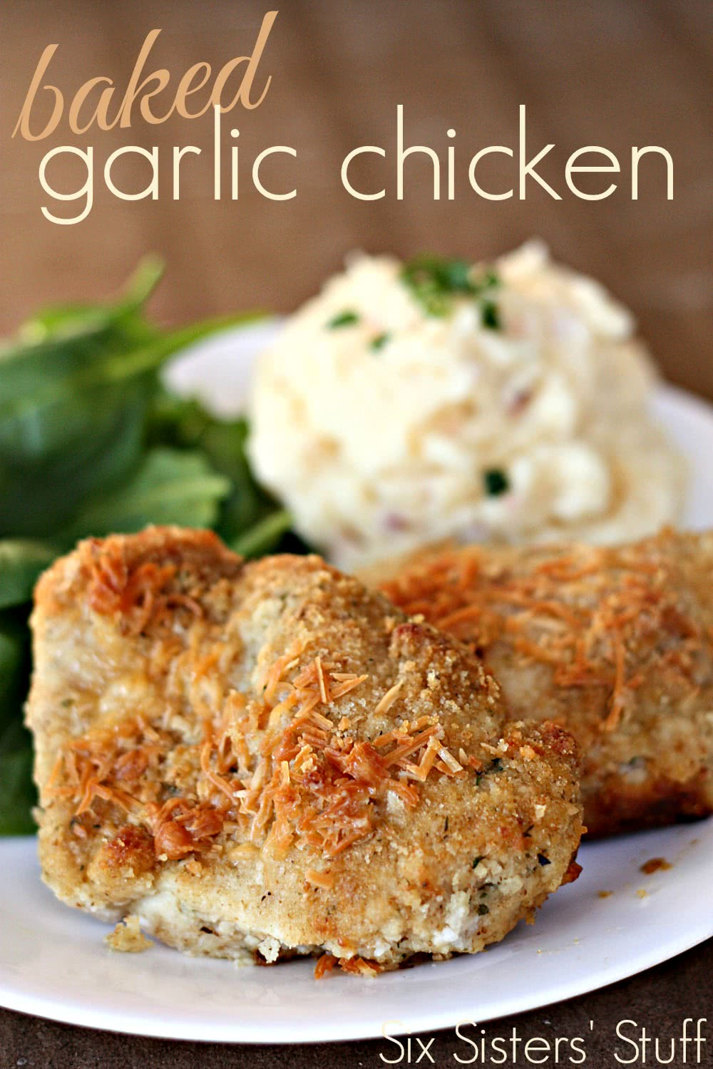 baked garlic chicken