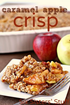 Warm Caramel Apple Crisp Recipe