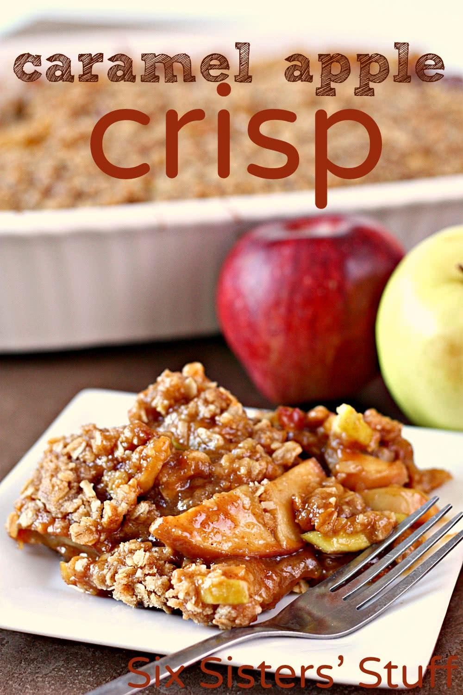 Warm Caramel Apple Crisp Recipe