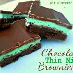 chocolate-thin-mint-brownies